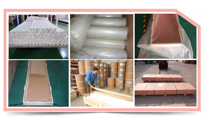 Recycled materials Plastic PTFE bar