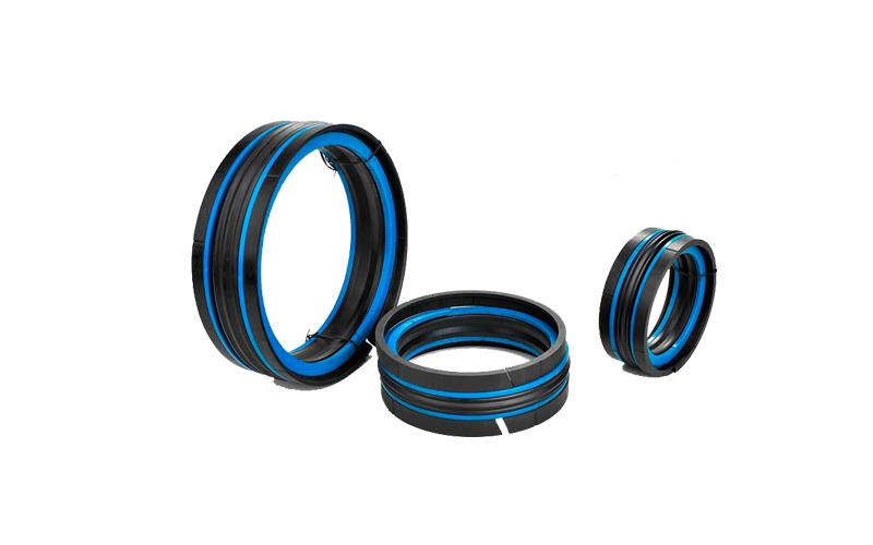 Hydraulic double acting Compact seal