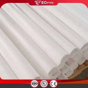 Virgin Materials Plastic PTFE Bar